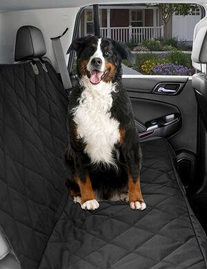 Pet Craft Car Back Seat Cover Black