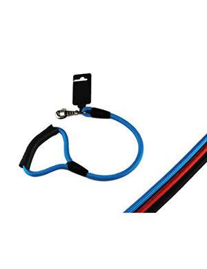Pet Craft Dog Leash with Plastic Handle Blue Medium