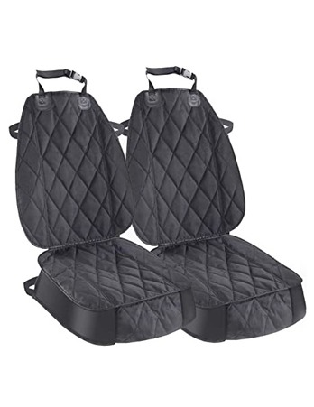 Pet Craft Car Front Seat Cover Black