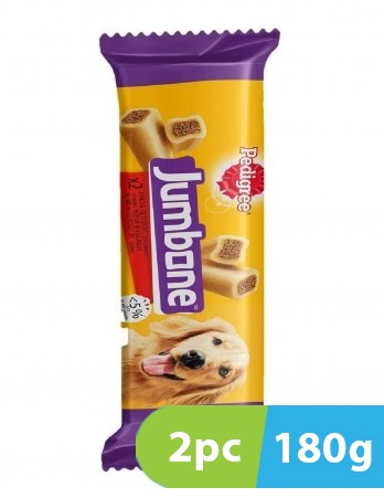 Pedigree Jumbone Beef and Poultry 2pc x 180g