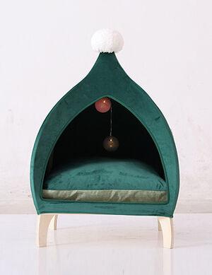 Green Pet House Medium