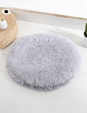 Grey Fluffy Mats 50cm