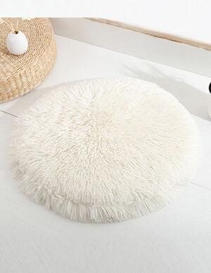 White Fluffy Mats 50cm