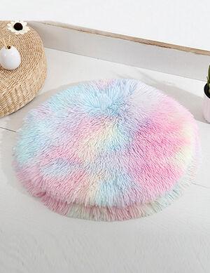 Rainbow Fluffy Mats 50cm