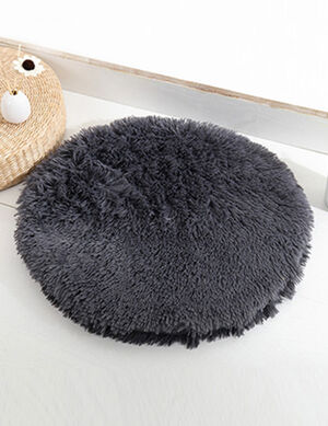 Dark Grey Fluffy Mats 50cm