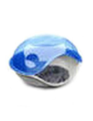 Duck Pillow Transparent Bed Blue