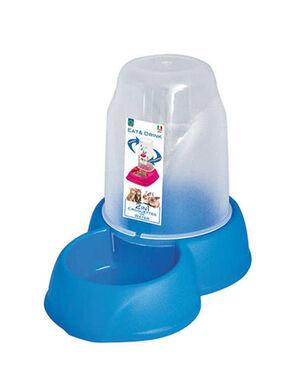 Georplast Dispenser Eat & Drink Blue