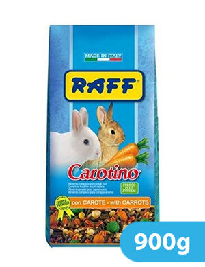 Raff - Carrot for Dwarf Rabbits 900g