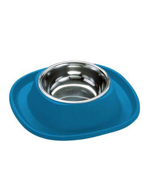 Georplast Soft Touch Stainless Steel Single Bowl Large Blue