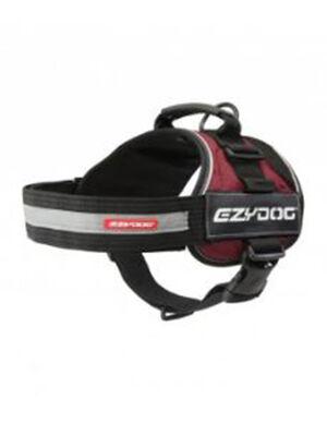 EzyDog Convert Red & Black Harness Large