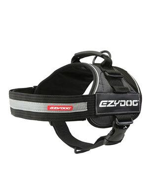 EzyDog Convert Red & Black Harness Medium