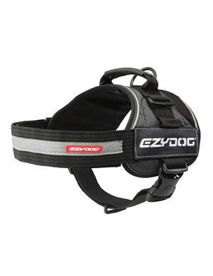 EzyDog Convert Grey & Black Harness X-Small