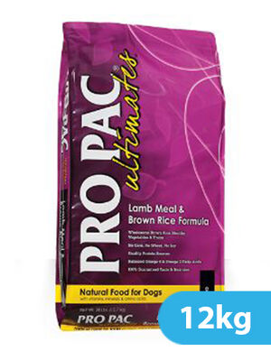 Pro Pac Lamb And Brown Rice 12 kg