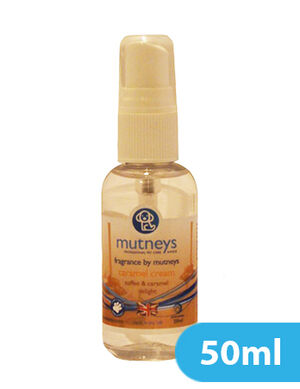 Mutneys Caramel Cream Fragrance Spray 50ml
