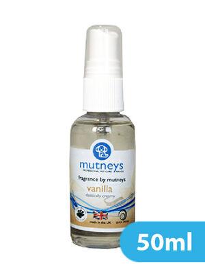 Mutneys Vanilla Fragrance Spray 50ml