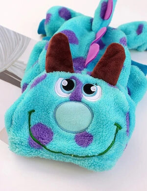 Winter Blue Monsterink Pajama Small