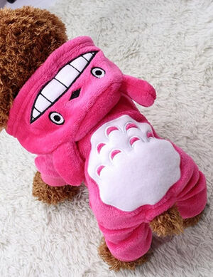 Pink Smiley Pajama Medium