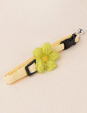 Cotton Bow Orange Collar Free Size