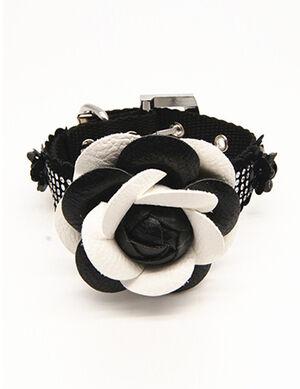 Black Rose Collar Large