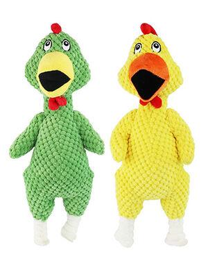 Green Chicken Plush Toy