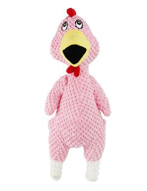 Pink Chicken Plush Toy