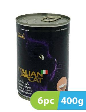 Italian Cat Pate with Salmon 6 x 400 gm