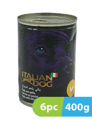 Italian Dog Pate with Chicken 6 x 400 gm