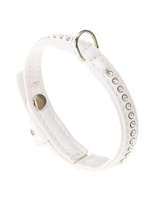 Ferplast White Lux Collar Medium
