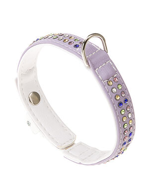 Ferplast Purple Lux Collar Large