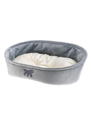 Ferplast Grey Laska Bed Small