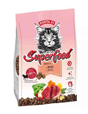 Porta21 Cat Superfood Beef 400 gm