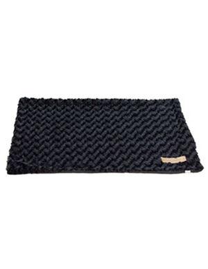 M-Pets Black Shetland Blanket Medium