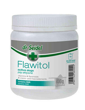 Dr Seidel Flawitol HMB for Active Dogs Powder 400g