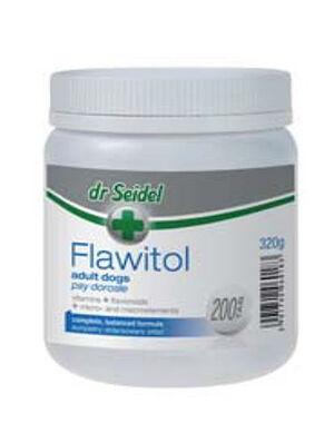 Dr Seidel Flawitol Dog Supplements & Vitamin 200 Tablets