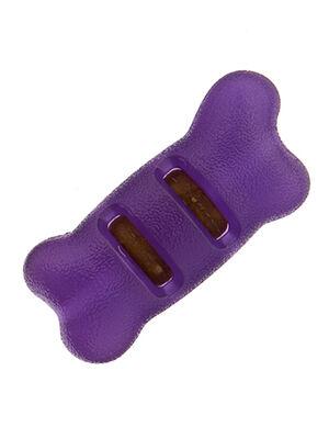Starmark Treat Ringer Flexgrip Bone Dog Toy Large
