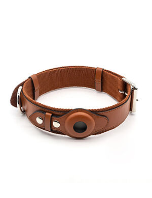 KeepTail Collar Brown X-Small
