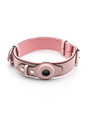 KeepTail Collar Pink Small